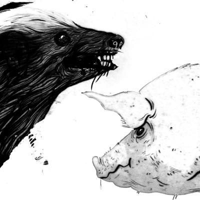 "Clark - Honey Badger / Pig (12"")"