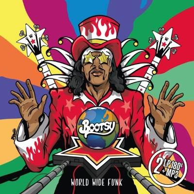 Collins, Bootsy - World Wide Funk (Splatter Vinyl) (2LP+Download)