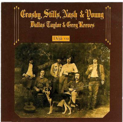 Crosby, Stills, Nash & Young - Deja Vu (cover)