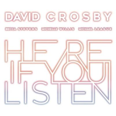 Crosby, David - Here If You Listen (LP)
