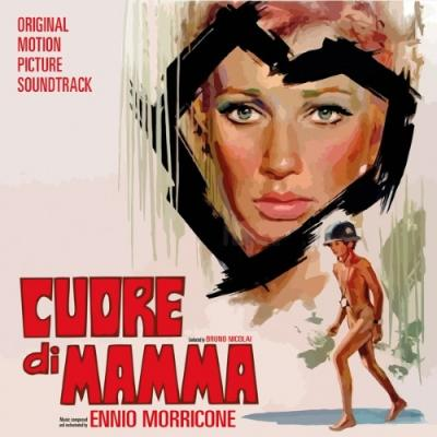 Cuore Di Mamma (OST by Ennio Morricone) (Clear & Solid Red Mixed) (LP)