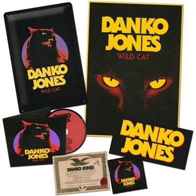 Danko Jones - Wild Cat  (CD+Patch+Sticker+Poster+Metal Plate) (BOX)