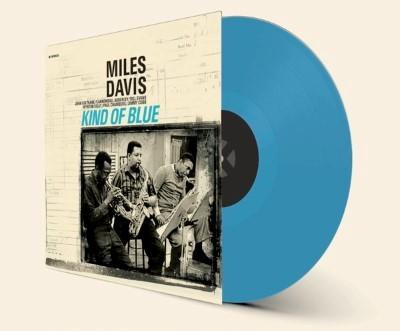 Davis, Miles - Kind of Blue (Limited) (Solid Blue Colored Vinyl) (LP)