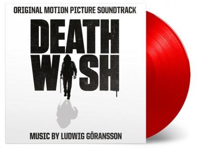 Death Wish (OST by Ludwig Goransson) (Red Vinyl) (LP)