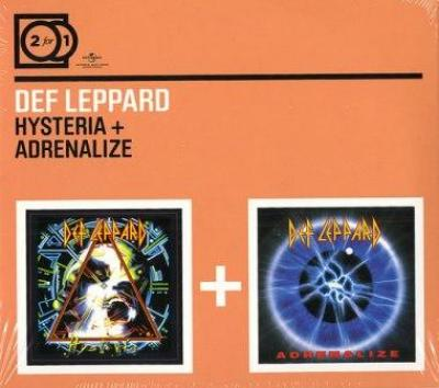 Def Leppard - Hysteria + Adrenalize (2CD) (cover)