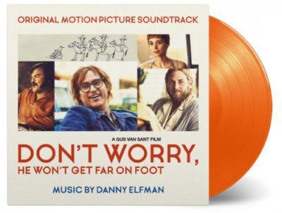 Don't Worry, He Won't Get Far On Foot (OST by Danny Elfman) (Orange Vinyl) (LP)