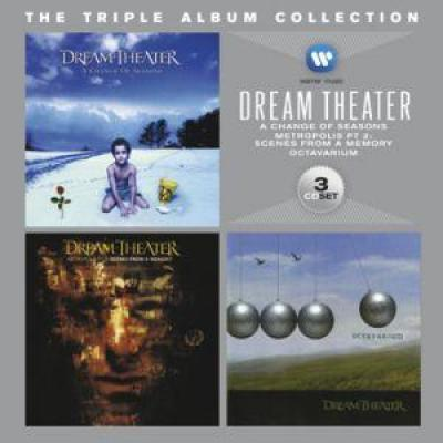 Dream Theater - Triple Album Collection (3CD) (cover)