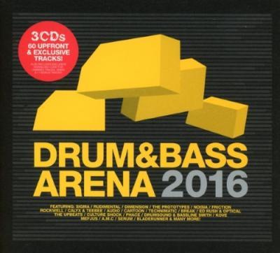 Drum Amp Bass Arena 2016 3cd Bilbo