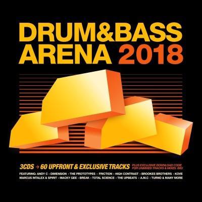 Drum & Bass Arena 2018 (3CD)