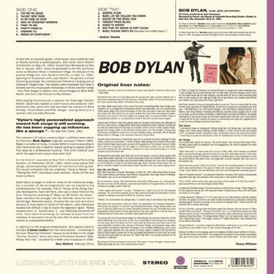 Dylan, Bob - Debut Album (Transparant Purple Vinyl) (LP)