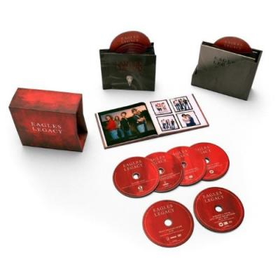 Eagles - Legacy (12CD+DVD+BluRay+Book)
