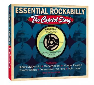 V/a - Essential Rockabilly: The Capitol Story (cover)