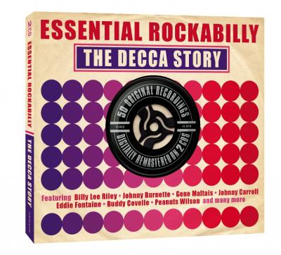 V/a - Essential Rockabilly: The Decca Story (cover)