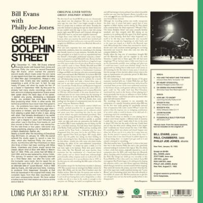 Evans, Bill - Green Dolphin Street (Transparent Green Vinyl) (LP)