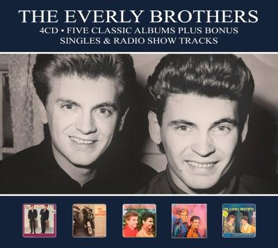 Everly Brothers - Five Classic Albums (4CD)