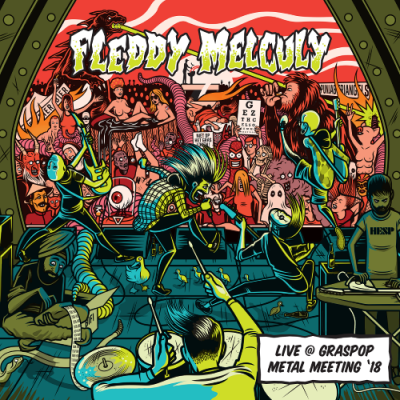 Fleddy Melculy - Live @ Graspop Metal Meeting '18