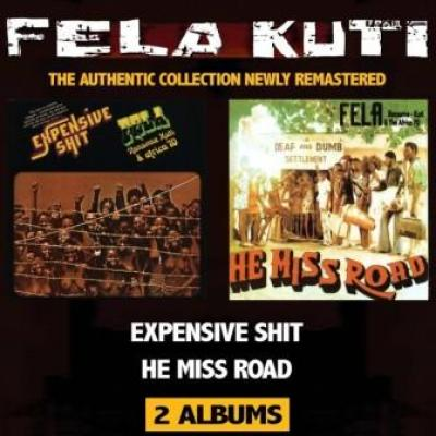 Fela Kuti - Expensive Shit + He Miss Road (2CD) (cover)