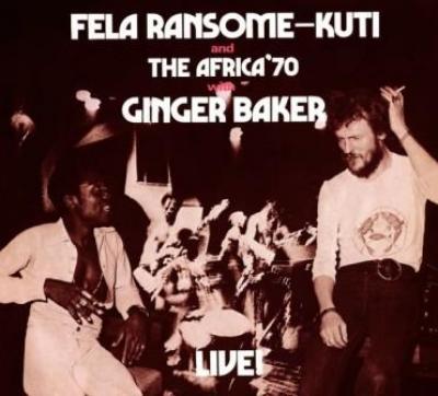 Fela Kuti - Fela With Ginger Baker Live! (cover)