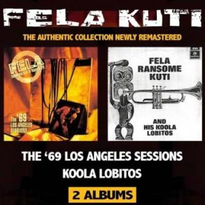 Fela Kuti - Koola Lobitos 64-68 + The 69 Los Angeles Sessions (2CD) (cover)