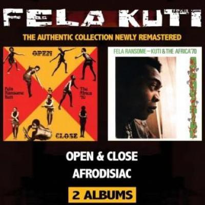 Fela Kuti - Open & Close + Afrodesiac (2CD) (cover)
