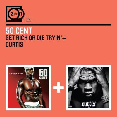 Fifty Cent - Get Rich or Die Tryin' / Curtis (2 For 1 Serie) (2CD)