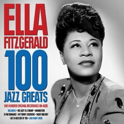 Fitzgerald Ella 100 Jazz Greats 4cd Bilbo