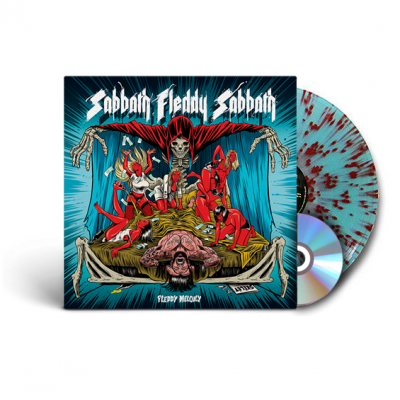 Melculy, Fleddy - Sabbath Fleddy Sabbath (Blue & Red Splatter Vinyl) (LP+CD)