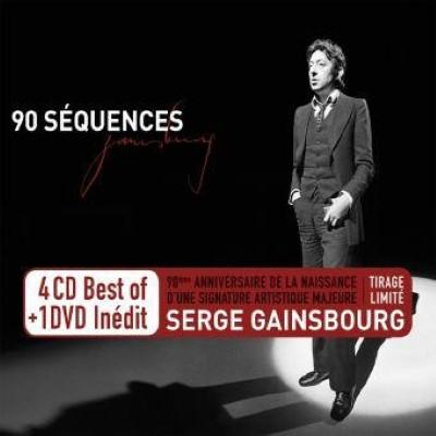 Gainsbourg, Serge - 90 Séquences (Limited) (4CD+DVD)