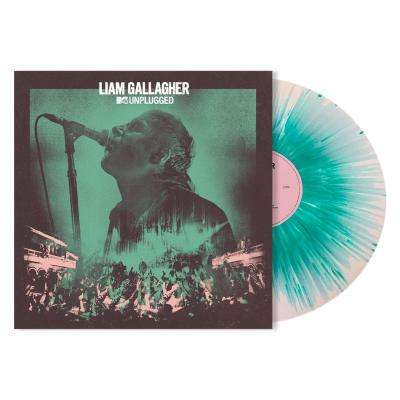 Gallagher, Liam - Mtv Unplugged (White With Mint Splatter Vinyl) (LP)
