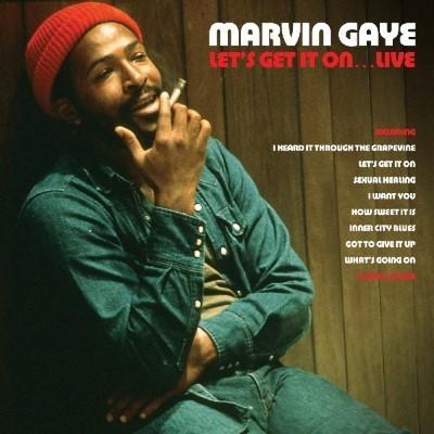 Gaye, Marvin - Let's Get It On... Live (Red Vinyl) (2LP)