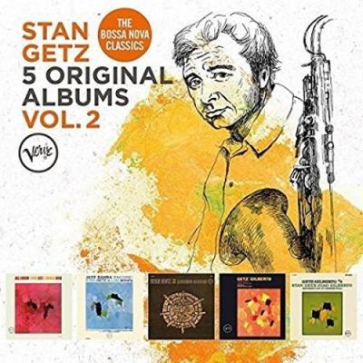 Getz, Stan - 5 Original Albums (Volume 2) (5CD)