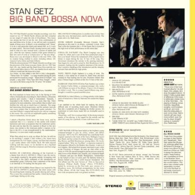 Getz, Stan - Big Band Bossa Nova (Yellow Vinyl) (LP)