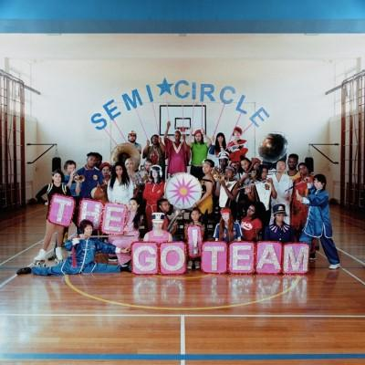 Go! Team - Semicircle (Neon Pink Vinyl) (LP+Download)