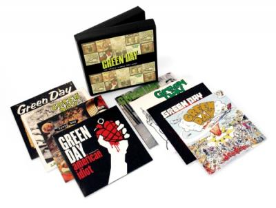 Green Day - Studio Albums 1990-2009 (8CD) (cover)