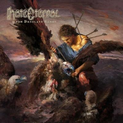 Hate Eternal - Upon Desolate Sands (Transparent Red Vinyl) (LP)