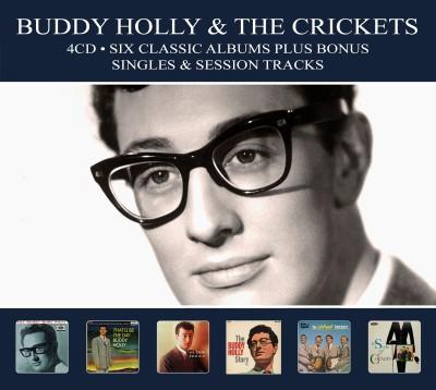 Holly, Buddy & the Crickets - Six Classic Albums (Plus Bonus Singles & Session Tracks) (4CD)