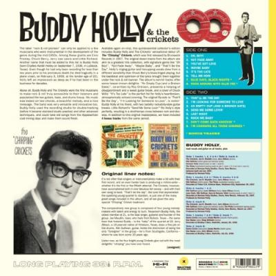 Holly, Buddy - and the Chirping Crickets (Yellow Vinyl) (LP)