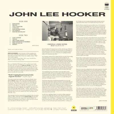 Hooker, John Lee - Burnin' (Transparent Yellow Vinyl) (LP)