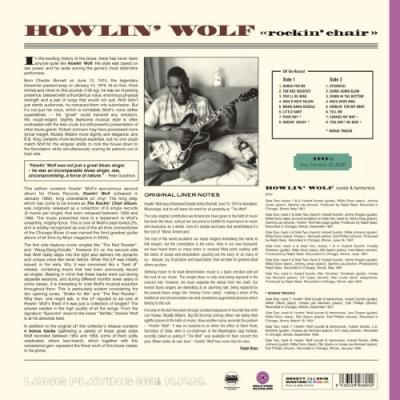 Howlin' Wolf - Rockin' Chair (Transparent Purple Vinyl) (LP)