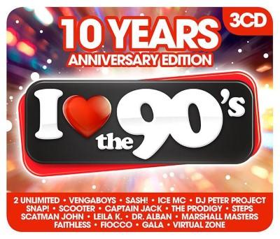 I Love the 90's (10th Anniversary Edition) (5CD)