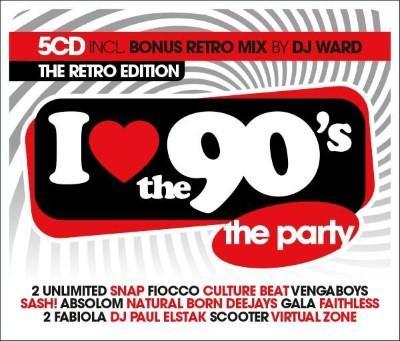 I Love the 90's (The Retro Edition) (5CD)