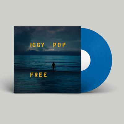 Iggy Pop - Free (Sea-Blue Vinyl) (LP)