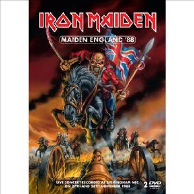 Iron Maiden - Maiden England '88 (DVD) (cover)
