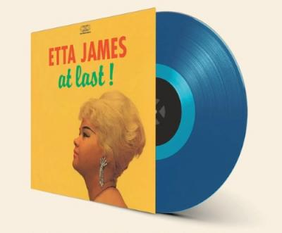 James, Etta - At Last! (Transparent Blue Vinyl) (LP)