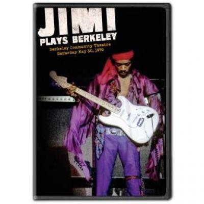 Hendrix, Jimi - Jimi Plays Berkeley (DVD) (cover)