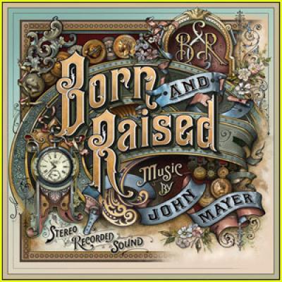 Mayer, John - Born And Raised (cover)