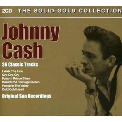 Cash, Johnny - The Solid Gold Collection (cover)
