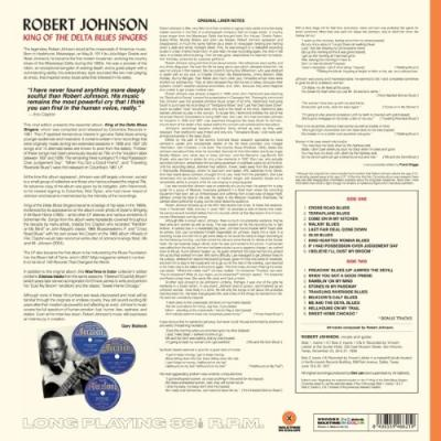 Johnson, Robert - King of the Delta Blues Singers (Orange Vinyl) (LP)