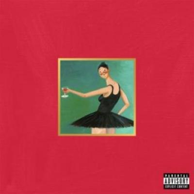 West, Kanye - My Beautiful Dark Twisted Fantasy (CD+DVD) (cover)