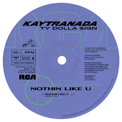 Kaytranada - Nothin Like U / Chances (LP)